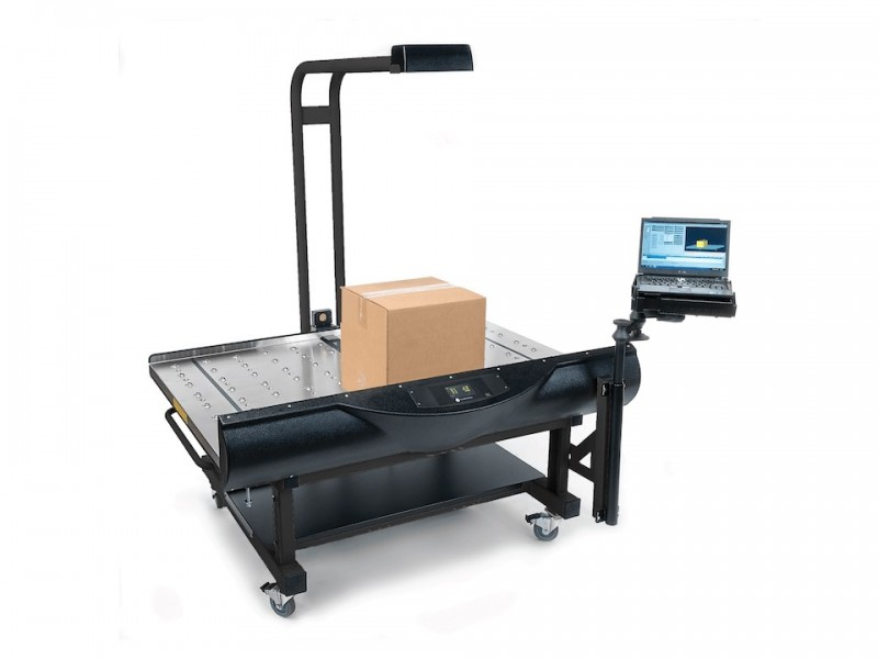 CubiScan 150: Static volumetric and weighing measurement system