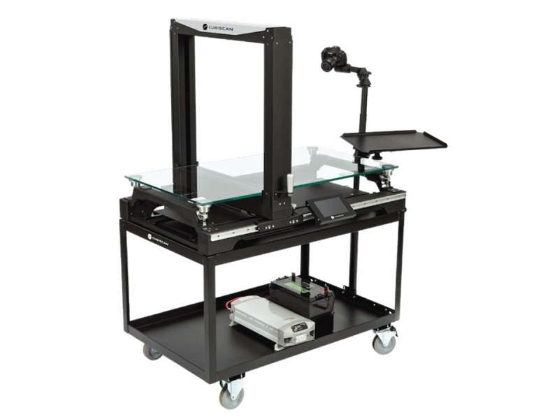 CUBISCAN 325: static volumetric and weighing measurement system